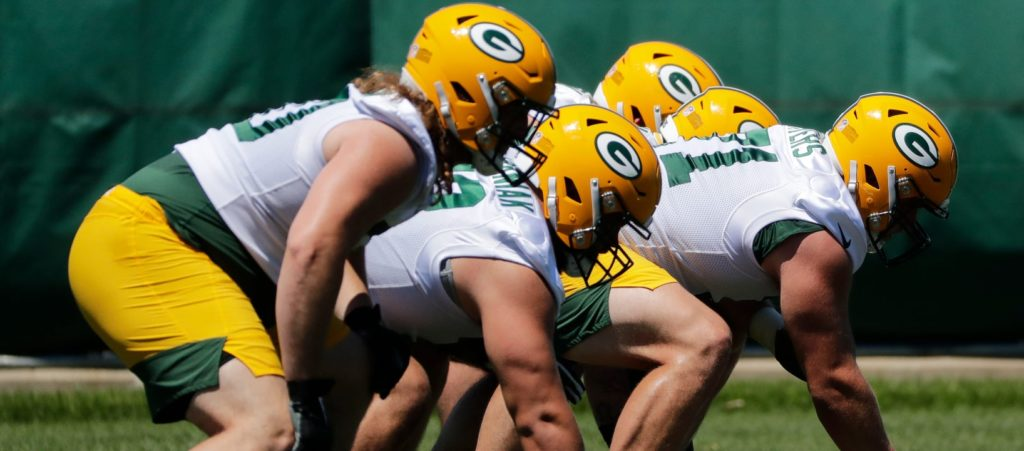 Packers' Offensive Line