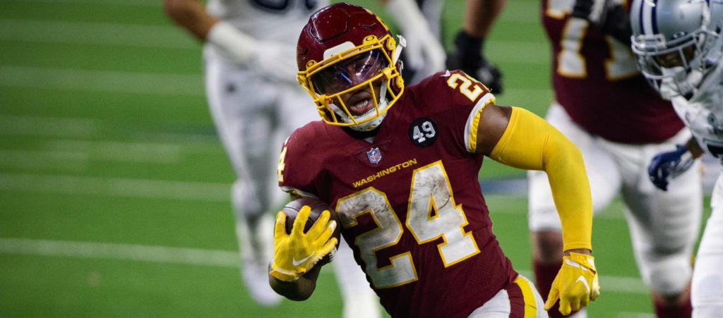 NFL DFS GPP Week 1 Antonio Gibson