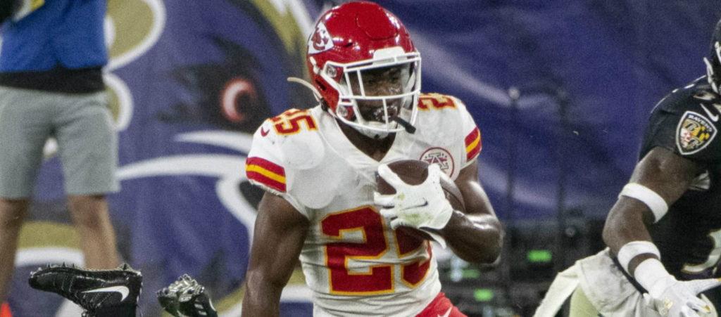 NFL DFS Cash Clyde Edwards-Helaire